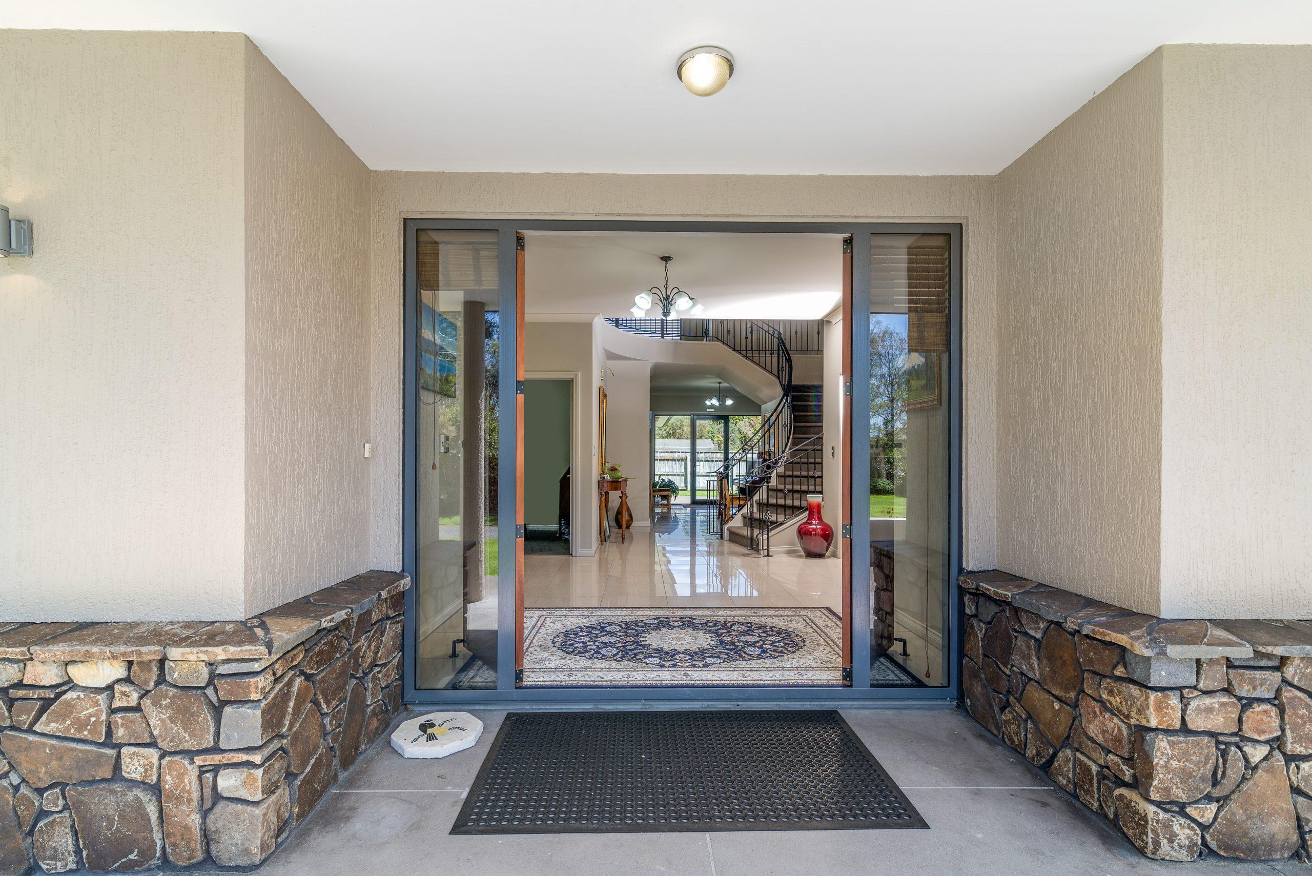Tui Lodge front door